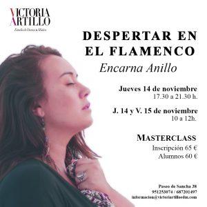 Masterclass Encarna Anillo en Estudio de Danza y Música Victoria Artillo