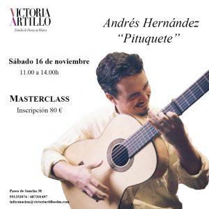 Masterclass Pituquete en Estudio de Danza y Música Victoria Artillo