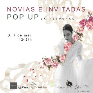 Wedding Pop Up en La Temporal