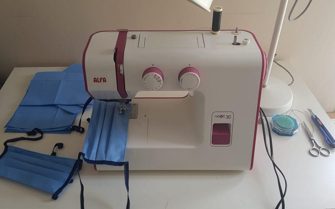Las mujeres malagueñas se ponen a coser